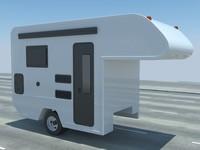 camper modelled 3d max
