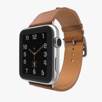3d apple watch hermes 42mm