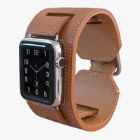 3d apple watch hermes cuff
