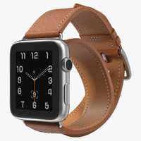apple watch hermes 42mm 3d model