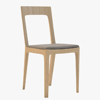 chair dining 3d 3ds