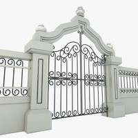 maya elegant iron gate