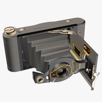 3d 3ds ancient kodak camera