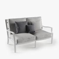 longue sofa 3d model