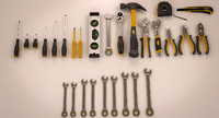 tools industrial kits s 3d max