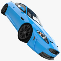 xkr-s 2012 3d model
