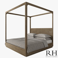 MARTENS FOUR-POSTER CANOPY BED