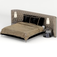 pitti bed 3d max