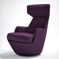 3d model of turn armchair bensen