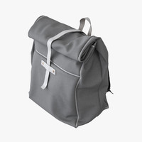 3ds max backpack canvas bag