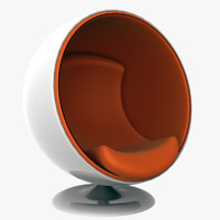 3ds ball chair