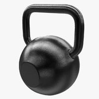 3d model kettle bell