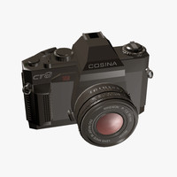 cosina ct9 camera 3d max