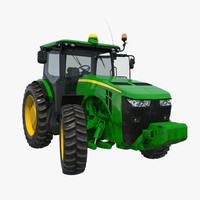 3d max tractor generic 2 rigged