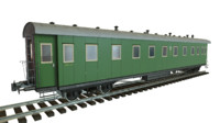 3ds soviet passenger train pbr