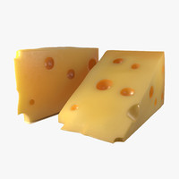 3d cheese wedge 2