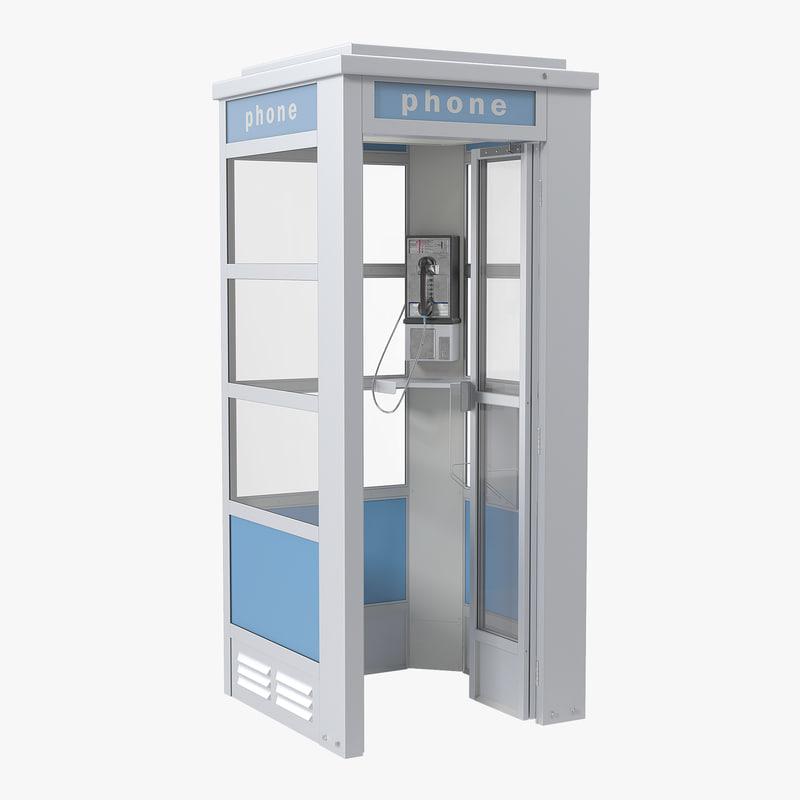 Phone Booth 3d model 00.jpg