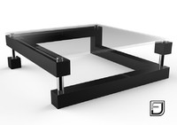 coffee table 9 3d 3ds