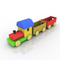 wooden toy train max