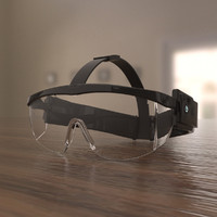 3d elegant lens model