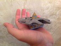 3D-Printable Kit Stargate SG1 Hatak spaceship