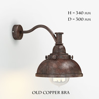 max old copper bra