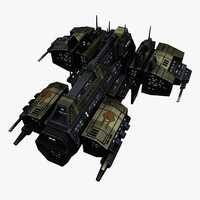 Upgraded Civilian Transport Spaceship 1