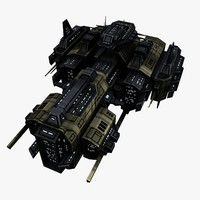 Upgraded Civilian Transport Spaceship 2