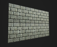 Stylized Brick Wall texture Gameready