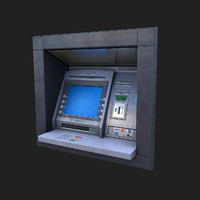 ATM Wall cash machine