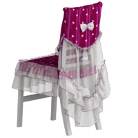 3d model chair antimacassar