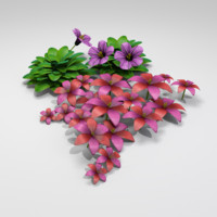 3ds max flower