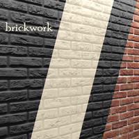 bricks wall 3d model