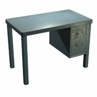 maya french metal desk