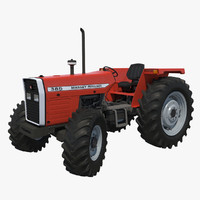 3d model tractor massey ferguson 385