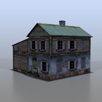 3d model house russia