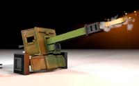 3d model minecraft