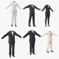 3d workwear suits model