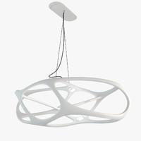 3d model andromeda chandelier