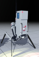 medical robot 3d 3ds