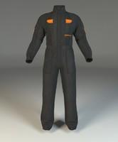 3d model overalls