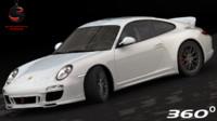 3d porsche 911 sport 2010
