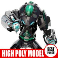 3d robot bot
