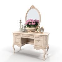 decorative set table 3d model