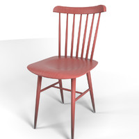 Tucker chair red