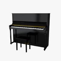 3d piano