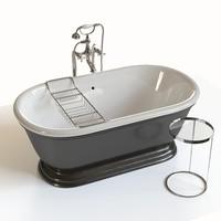 classic bathtube 3d model