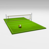 3ds max volleyball volley ball