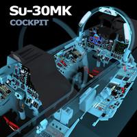 cockpit Su-30MK