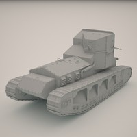 3d max whippet tank